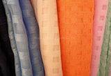 Tela del Organza de la tela escocesa para las alineadas y el mantel