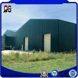 Almacén de acero de los edificios prefabricados del metal para el garage