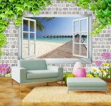 3D Windows는 홈을 꾸미기를 위한 벚꽃 유화를 전망한다