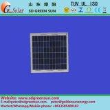 mono módulo solar de 18V 5W para o sistema 12V pequeno