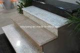 La piedra al aire libre de pulido natural camina las escaleras del granito de las canalizaciones verticales (YQC-S1002)
