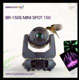 150W mini cabeza móvil LED Gobo del punto de luz de escenario