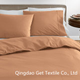회사 Organic Solid Duvet Cover/Home/Hotel 또는 Company/School etc. Sheet Set
