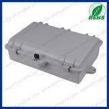 Plastic Material 12 Core Outdoor Fiber Optic Distribution Box for FTTH