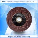Rueda abrasiva de la solapa de los discos de la solapa del óxido de aluminio
