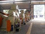 종려 잎 연탄 압박 기계