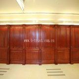 De houten Gelamineerde Folie van de Korrel pvc met Goede Prijs