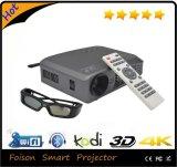가득 차있는 HD Pico 3D Shutter DLP Projector, Convert 제 2에 3D Mini DLP LED Projector