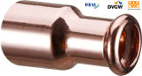 Redução reta 22*18 do acoplamento da imprensa de cobre