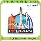Магниты Buri Khalifa Дубай холодильника PVC подарков промотирования сувенира (RC-DI)