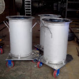 Подгонянный подвижной бак нержавеющей стали к жидкости хранения