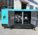 Generador diesel de Cummins del pabellón silencioso con el depósito de gasolina 12hours