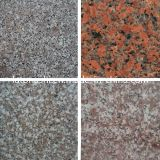 Floor、Wallのための割引Price PolishedマルチColor Granite Stone Tile