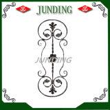 Diseño ornamental del panel del hierro labrado para el pasamano del hierro y la puerta del hierro