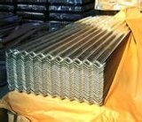 Baumaterial-Dach-Blatt gewelltes galvanisiertes Stahldach-Blatt