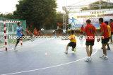Carrelage de verrouillage de handball de championnat européen, carrelage de cour de handball