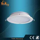 Lâmpada ultra magro Downlight do teto do diodo emissor de luz do poder superior