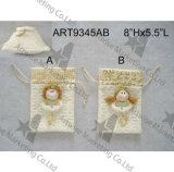 """8 de Engel giftbag-2asst van """" Hx5.5 """" L. - De Decoratie van Kerstmis"""