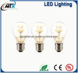 Van nieuwe LEIDENE MTX Lichte Lamp van de Kaars van de Bol bollen Retro E27 3W Edison Vintage LED 110V/220V G125