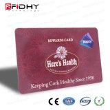 13.56 MHz RFID NFCのカード1kbの大きさの買物