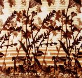 دافئ ليّنة زهرة طباعة [دووبل لر] سميك بوليستر [رسكهل] غطاء