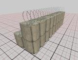 Barreira de Hesco/caixa de Gabion/barreira galvanizadas mil. de Gabion
