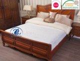 De de gewatteerde Gepaste Katoenen Beschermer van de Matras/Dekking van het Bed