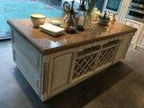 Modèle modulaire américain de cuisine en bois solide de Module de cuisine