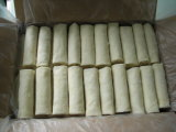 Halal Brc Certifacte에 의하여 어는 상자와 판지의 포장에 있는 25g/Piece 봄 Rolls