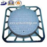 단철 맨홀 뚜껑의 En124 A15 B125 C250 D400 모래 주물 둥근 맨홀