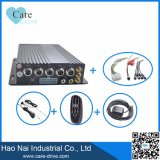 4-CH HD Fahrzeug-mobiles Digital-Videogerät mit zwei Ableiter-Karten eingebautes 3G, GPS-Baugruppee