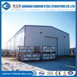 Edificio galvanizado de la fábrica del marco de acero de la INMERSIÓN caliente
