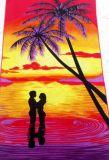 Напечатанное полотенце пляжа Microfiber