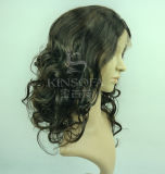 Pelucas superiores del pelo humano de la Virgen el 100% del grado (kinsofa 23322 (1))