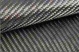 3k en la superficie del tubo de la fibra del carbón para los palillos