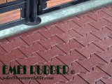 Piazza standard di sicurezza in gomma del pavimento per parco giochi