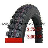 Venezuela-Markt Dunlop Tt100 Muster-schlauchloser Motorrad-Reifen/Motorrad-Gummireifen 275-18, 360-18