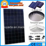 250W poco costoso Polycrystalline Solar Panel From Factory