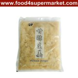 Ingelegde Sushi Ginger Slice White en Pink in Bag en Bottle 1kg