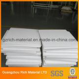 Melkachtige Witte Vierkante Plastic PS die het Blad van de Verspreider voor het Lichte Comité van het Plafond aansteken