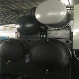 冷暖房システムの水源のヒートポンプの単位