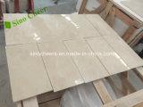 Mosaico di marmo bianco Herringbone di Carrara