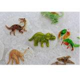 Les produits de jardin d'enfants pour des enfants calment vers le bas en secouant et en trouvant le jeu avec des parties de dinosaur