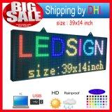 P10 de Volledige RGB LEIDENE van de Kleur LEIDENE van de Reclame Vertoning van het Aanplakbord/Openlucht