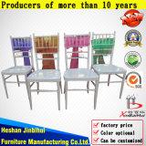 Présidence en acier moderne de Chiavari de mariage de banquet d'hôtel de restaurant en métal (BH-L8815)