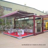 モジュラー輸送箱のレストラン