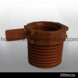 Acoplador-Codo-Te-Adaptador de la cuerda de rosca del Guarnición-Varón del tubo de agua de Pph (el 1/2 '')