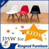 싼 나무다리 의자 플라스틱 PP 아BS 아이를 위한 다채로운 식사 의자 Eames Dsw Dar 의자