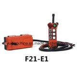 Transmisor teledirigido de radio F21-E1 para las grúas