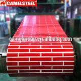 Напечатанное PPGI с картиной кирпича/Prepainted гальванизированная стальная катушка/покрынная цветом стальная катушка для конструкции